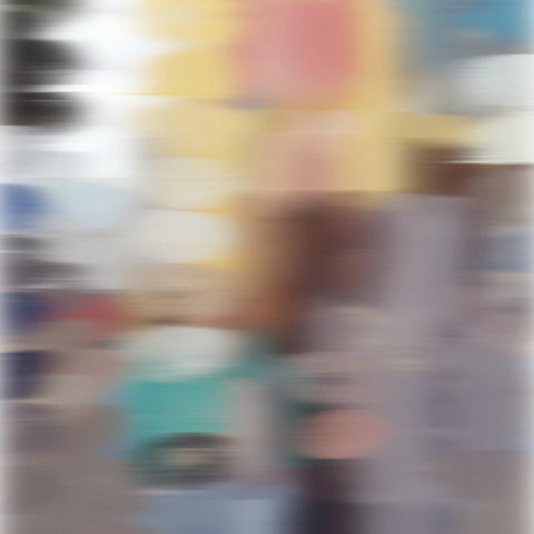 3D Blurred Boundaries - Abstract Expressionism N16. Canvas Print by Irena Orlov