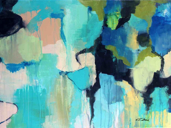 Abstract 811. Giclee Print by Irena Orlov 24x36""