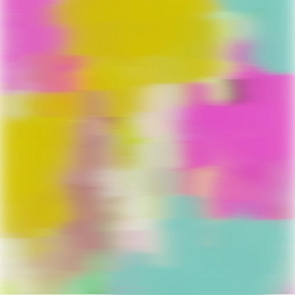 3D Blurred Boundaries - Abstract Expressionism N14. Canvas Print by Irena Orlov