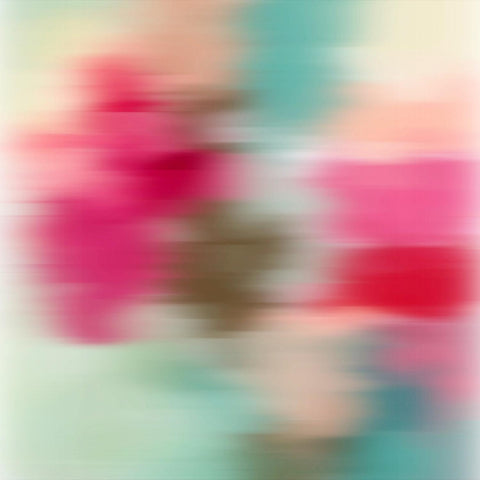 3D Blurred Boundaries - Abstract Expressionism N31. Canvas Print by Irena Orlov
