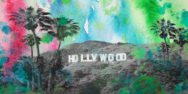 Hollywood. California. Canvas Print by Irena Orlov 30 x 60""