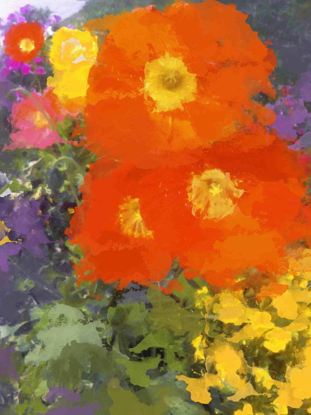 "I love Poppies. Canvas Print by Irena Orlov 24"" x 36"""