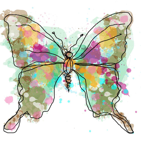 Butterfly 637 Canvas Print by Irena Orlov, large butterfly canvas art print, but