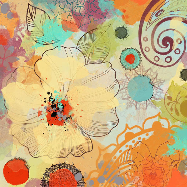 "Exotic Flowers. Canvas  Print by Irena Orlov 30"" x 30"""