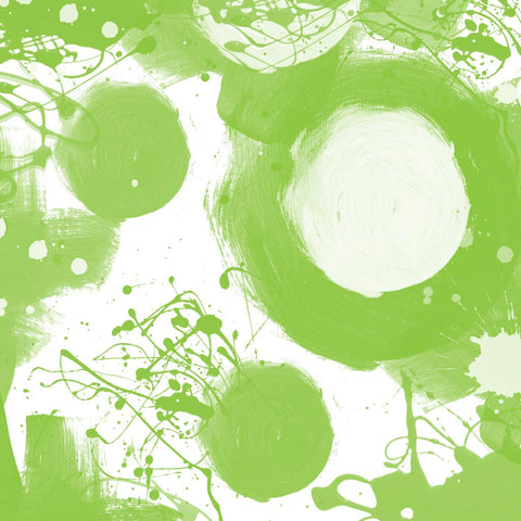 "Green. Canvas Print by Irena Orlov 40"" x 40"", large abstract canvas print, color"