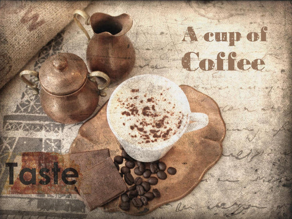 A cap of coffee. Canvas Print by Irena Orlov 24x36""