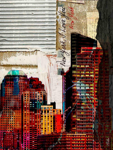 New York . Canvas Print by Irena Orlov up to 60""
