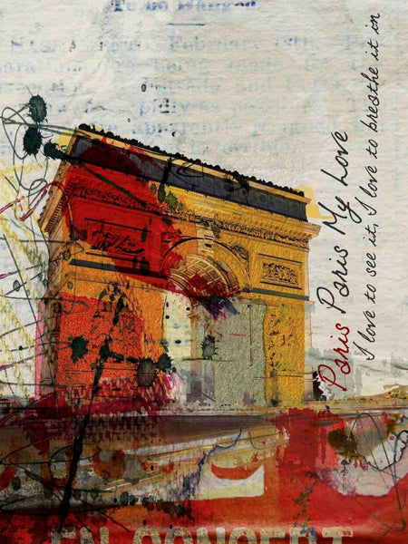 Paris, Paris. Canvas Print by Irena Orlov 40x30""