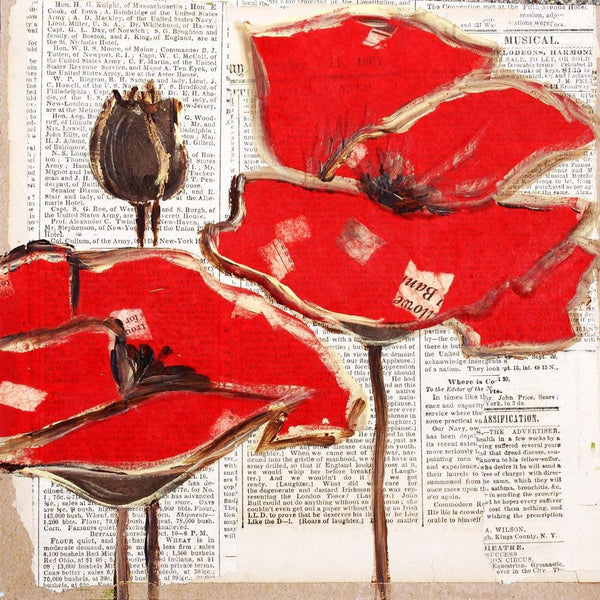 Red Perfection. Giclee Print by Irena Orlov. 30 x 30""