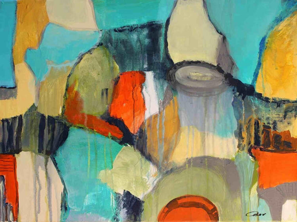 Abstract 812. Giclee Print by Irena Orlov 24x36""