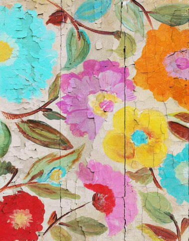 "Joyful Summer garden I. Canvas Print by Irena Orlov 24"" X 36"""
