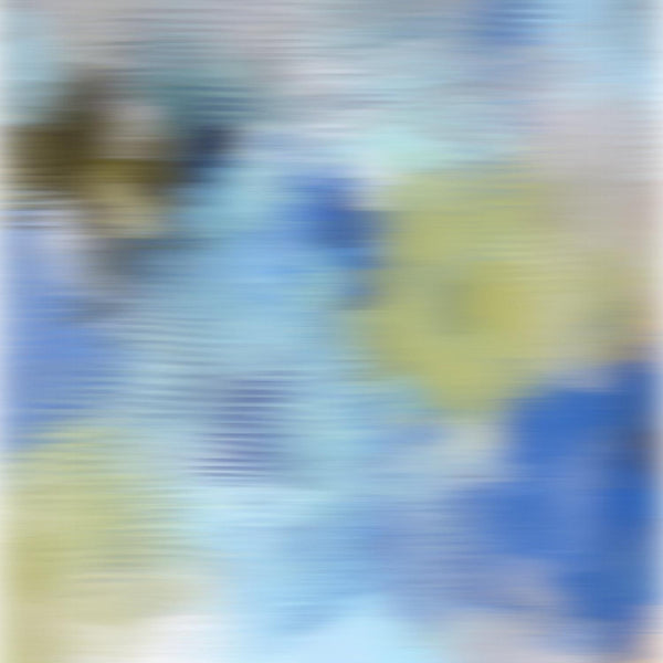 3D Blurred Boundaries - Abstract Expressionism N27. Canvas Print by Irena Orlov