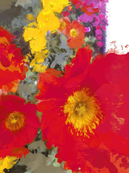 "Poppy Magic. Canvas Print by Irena Orlov 24"" x 36"", large canvas art print, wall"