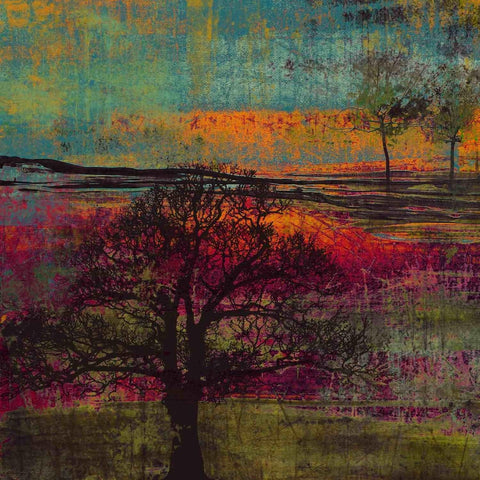 Impression, Sunset. Canvas Print by Irena Orlov