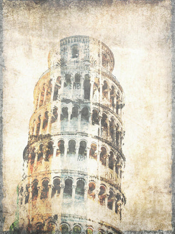 Tower of Pisa. Canvas Print by Irena Orlov 40x30""