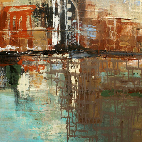 New York October 7, 1831 by Irena Orlov. Giclee 30 x 30""