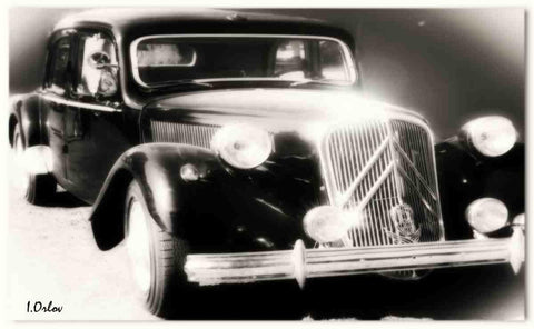 "Vintage Car. Canvas Print by Irena Orlov 24"" X 36"""
