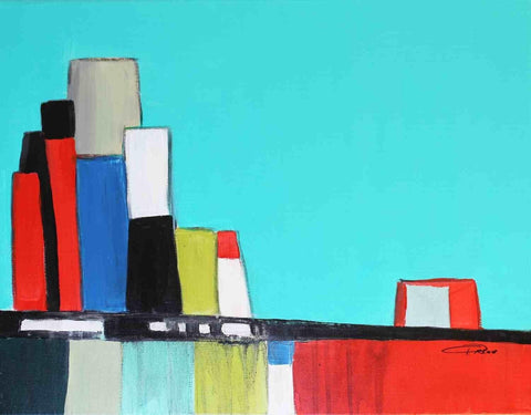 Abstract City. Giclee Print by Irena Orlov 24x36""