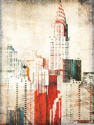 Chrysler Building. Cityscape Canvas Print by Irena Orlov, large city canvas art