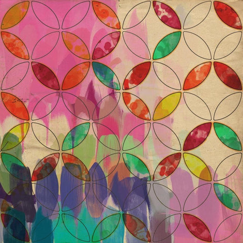 Geometric Abstract 3089 - Large Abstract Canvas Art, Abstract giclee, geometrica
