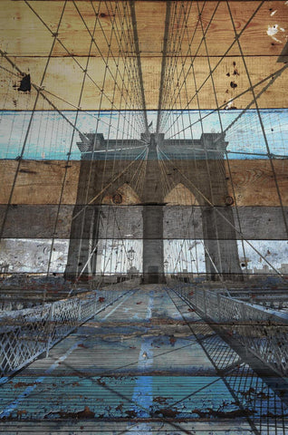 New York. Brooklyn Bridge II. Canvas Print by Irena Orlov