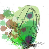 Green Butterfly Canvas Print by Irena Orlov, large butterfly canvas art print, b