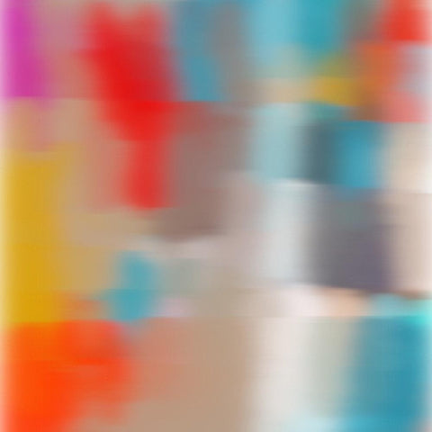 3D Blurred Boundaries - Abstract Expressionism N6. Canvas Print by Irena Orlov