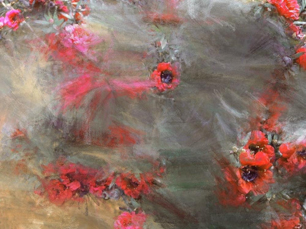 "A field of flowers all around . Canvas Print by Irena Orlov 24"" X 36"
