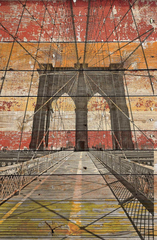New York. Brooklyn Bridge. Canvas Print by Irena Orlov 24x36""