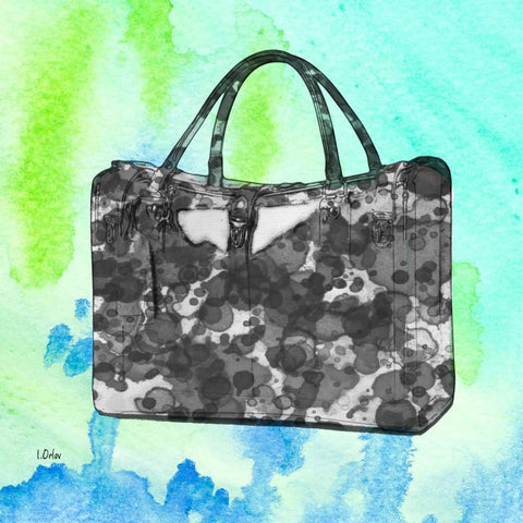 Travel Tote Bag, Canvas Print by Irena Orlov