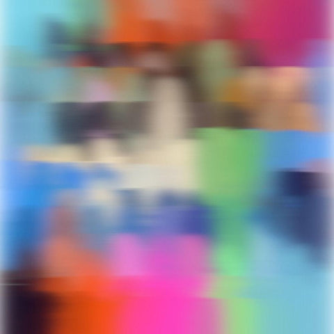 3D Blurred Boundaries - Abstract Expressionism N18. Canvas Print by Irena Orlov