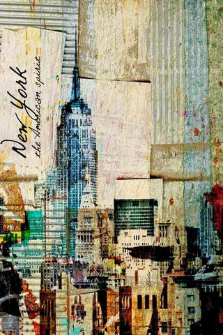 New York. Architectural Canvas Print by Irena Orlov up to 60""