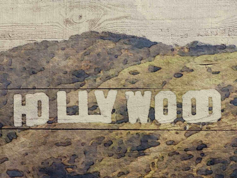 Hollywood Sign. Canvas Print by Irena Orlov 24x36""