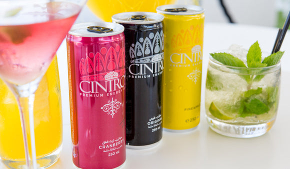 Sparkling Energy Beverages