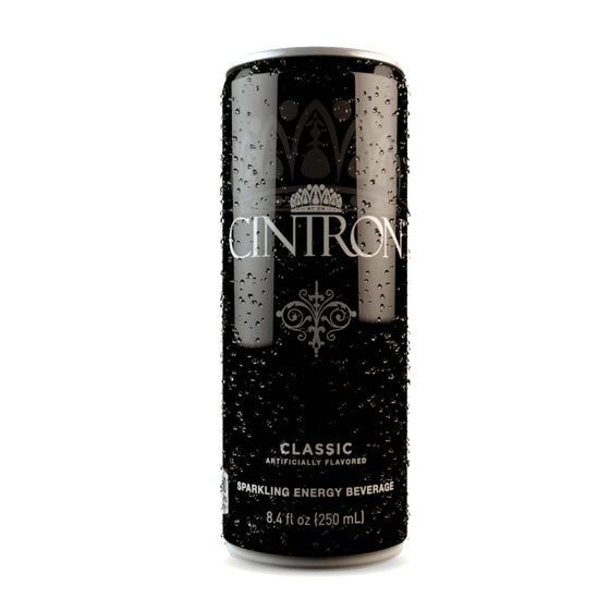 Cintron classic sparkling energy drink