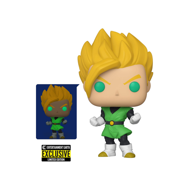 Funko Pop! Dragon Ball Z: Super Saiyan Gohan GITD #858 [EE]