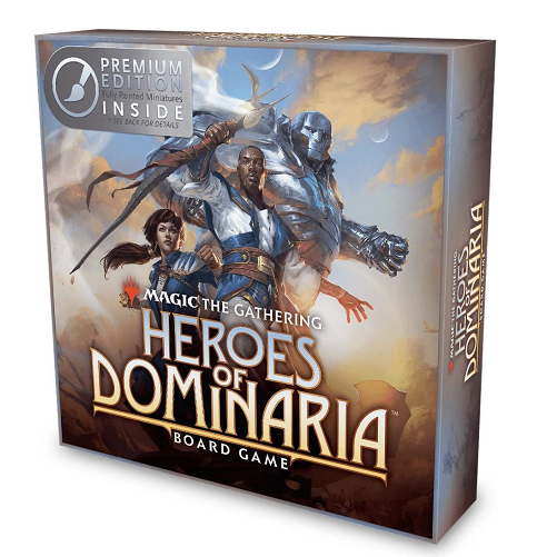Magic the Gathering: Heroes of Dominaria Board Game [Premium Edition]