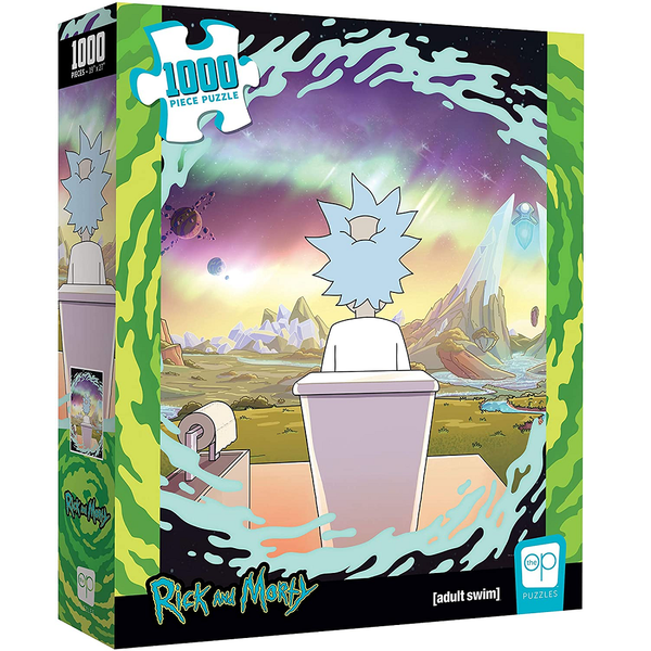USAOPOLY Rick and Morty - Shy Pooper 1000 Piece Puzzle