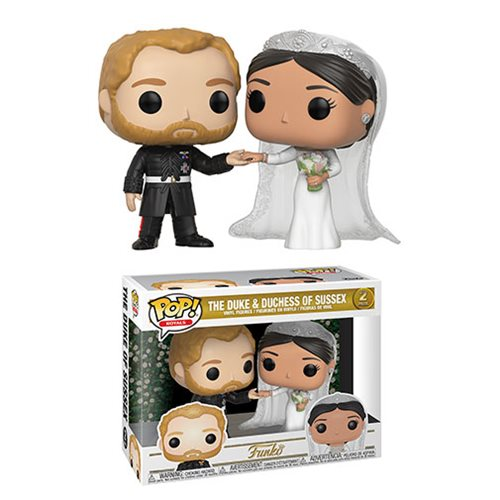 Funko Pop! ROYALS: The Duke & Duchess of Sussex 2-Pack