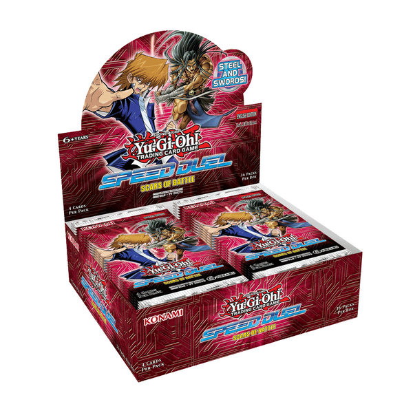 Yu-Gi-Oh! TCG: Speed Duel - Scars of Battle Booster Display [36 Packs] Factory Sealed