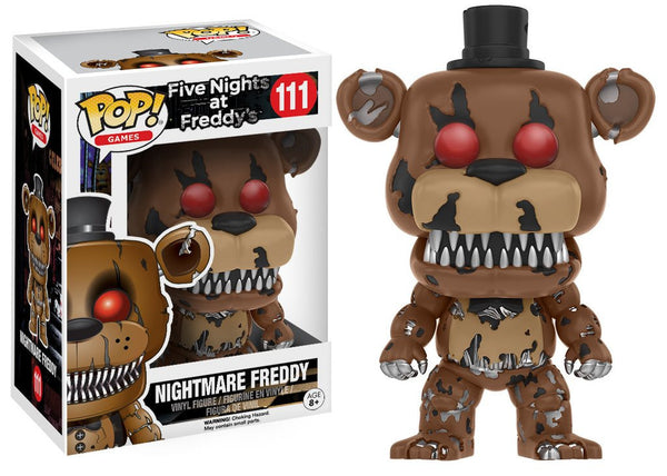 Funko Pop! Five Nights At Freddy's: Nightmare Freddy #111