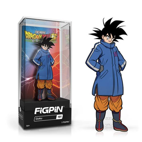 "FigPin Dragon Ball Super Broly: Goku #191 Cast Zinc Alloy [3""]"