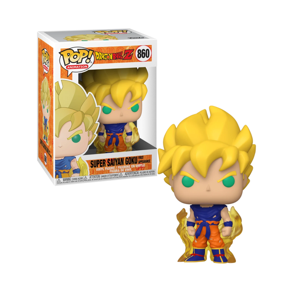 Funko Pop! DRAGON BALL Z: Super Saiyan Goku [First Appearance] #860