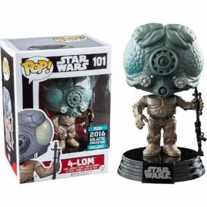 Funko Pop! STAR WARS: 4-LOM #101 [2016 Galactic Convention]