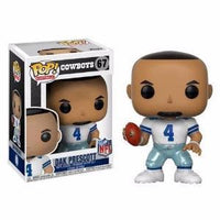 Funko Pop! NFL Cowboys: Dak Prescott #67 Wave 4
