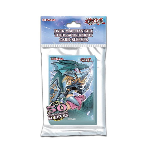 Yu-Gi-Oh! Dark Magician Girl / The Dragon Knight Card Sleeves [50 pack]