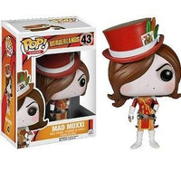 Funko Pop! BORDERLANDS: Mad Moxxi #43 [Red]
