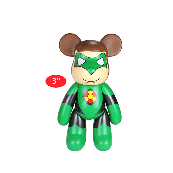 Popobe Green Lantern Bear 3""