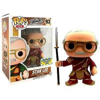 Funko Pop Asia Red Stan Lee Guan Yu #93 Convention Exclusive RARE Brand New Mint