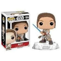Funko Pop! STAR WARS: Rey #104
